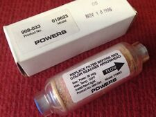 POWERS - IN-LINE DESICCANT, AIR FILTER - MODEL #019623