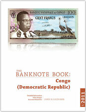 Congo Dem Rep chapter from new catalog of world notes, The Banknote Book