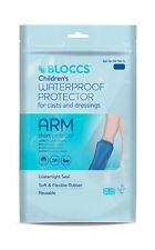 Bloccs Child Short Arm Waterproof Protector for Casts & Dressings, Age 4-9 year