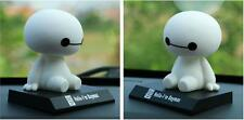 New BIG HERO 6 Baymax Robot Toys Car Adornment Shaking his head Collections Doll
