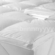 Luxury King Size Luxury Goose Feather & Down Mattress Topper