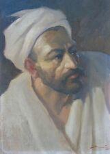 Portrait eines Orientalen,Sergei Bogdanov 1888, Impressionist Russland