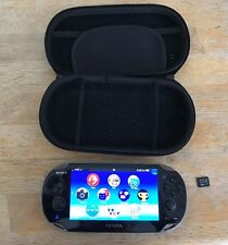 Playstation PS Vita bundle  wifi w/charging cable, case, and 16GB memory card