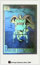 1991 Marvel Comics Hologram Trading Card H4: Doctor Doom