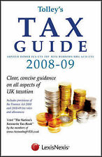 Tolley's Tax Guide 2008-09, Arnold Homer, Rita Burrows