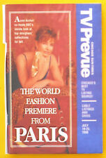 Anne Archer WORLD FASHION PREMIERE FROM PARIS Chicago TV guide July 19 1998