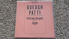 Guesch Patti - Let be must the queen/ Etienne 12'' Vinyl SPAIN PROMO