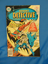 Vintage Batmans detective comic book #466 1st appearance Signalman DC superhero
