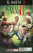 Civil War II X-Men #3 (NM) `16 Bunn/ Broccardo