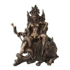 HEL DAUGHTER OF LOKI NORSE MYTHOLOGY GODDESS FIGURINE STATUE VIKING