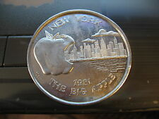 1981 new york big apple bite mardi gras doubloon new orleans coin