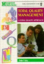 Total Quality Management: A Total Quality Approach (Management skills),GOOD Book