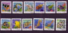 Marshall Inseln Michelnummer 150 - 161  gestempelt
