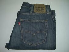 Mens LEVI'S STRAUSS & CO. 527 Dark Blue Bootcut Denim Jeans W38 L32