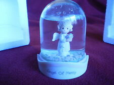 "Precious Moments Waterdome ""Angel of Mercy"" ENESCO 1991"