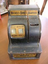 "Vintage Uncle Sams Register 3 Coin Bank Durable Toy  6""h AS/IS COND SEE PHOTOS."