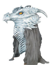 Halloween LifeSize Costume ANCIENT DRAGON PREMIERE DELUXE MASK Haunted House