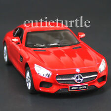 Kinsmart Mercedes Benz Amg GT 1:36 Diecast Toy Car Red