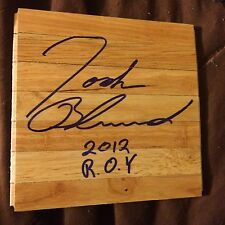 Josh Blanchard Pba Pro Bowling signed 6 x 6 Wood floor tile autographed