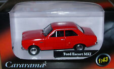 OXFORD DIECAST/CARARAMA FORD ESCORT Mk.1 'RED' NEW & BOXED 1:43