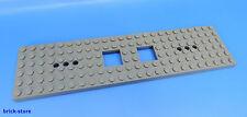 LEGO Nr- 6077826 / 6x24 Ferrovia Vagone Piastra grigio scuro / 1 Pezzo