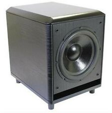 """Stellar Labs 50-16380 Active 10"""" Home Theater Subwoofer - 120W RMS"""