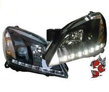 SATZ LED TAGFAHRLICHT-OPTIK SCHEINWERFER OPEL ASTRA H 04-09 SCHWARZ LINKS RECHTS