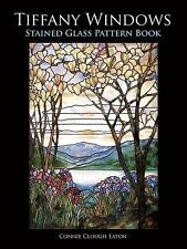 Tiffany Windows Stained Glass Pattern Book (Dover Stained Glass Instruction), Ea