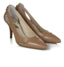 MICHAEL KORS 'HAMILTON' DARK KHAKI LEATHER SHOES SIZE UK 7 USA 9