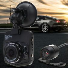 Mini HD 1080P Car Vehicle Auto DVR Dual Camera Lens Full Video Registrator NEW
