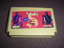 -*- Very Rare Old NES Famicom Famiclone cartridge - Street Fighter V  -*-