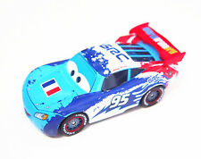 Disney The Cars World Grand Prix Lightning Mcqueen France Flag Kid Diecast Toy