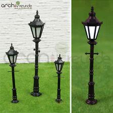 2x LED Lanterna parco Lampada da strada Modellismo 1:30/1:50 Modellino ferrovia