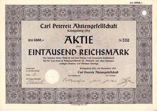 Carl Petereit AG  1939  Königsberg / Kaliningrad  Russland