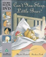 CAN'T YOU SLEEP, LITTLE BEAR - MARTIN WADDELL - NEW PICTURE BOOK AND DVD