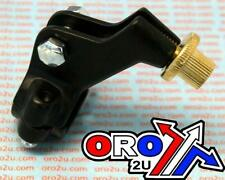 NEW KAWASAKI KX 250 91-04 CLUTCH LEVER BRACKET PERCH BLACK MOTOCROSS ENDURO..