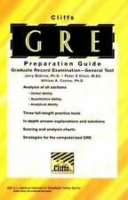 CliffsTestPrep GRE (Graduate Record Examination)
