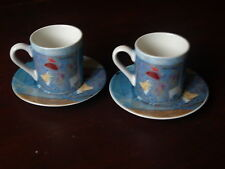 NPX ANNORE SPENCE COFFEE CUP AND SAUCERS X 2.