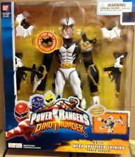 POWER RANGERS DINO THUNDER WHITE MEGA BATTLIZED TALKING POWER RANGER 12""