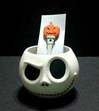 New Disney Store Nightmare Before Christmas Jack Ceramic Mug Soup Cup W/Spoon