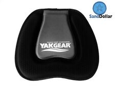 Yak Gear Sand Dollar Seat Cushion - Black Kayak canoe