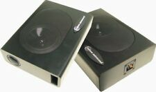 Undercover 1 Speaker Enclosures by Custom Autosound Compact, pair 120 watts   *g