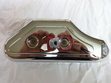 HARLEY SPORTSTER 1200 AND 883 1991 THRU 2003  CHROME REAR MASTER CYLINDER COVER