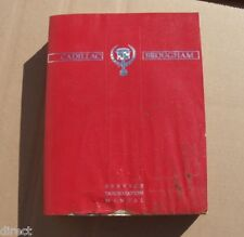 Genuine Factory OEM 1990 Cadillac BROUGHAM Shop Manual Service Book By HELM