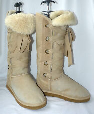 LFA Love from Australia Real Sheepskin Knee High Winter Boots  UK 7