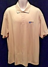 MENS BIG AND TALL NIKE FIT DRY GOLF TENNIS  POLO SHIRT SIZE  2X  BEIGE