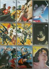 DC Legacy Alex Ross Gallery Chase Card Set AR1 - AR9 Rittenhouse