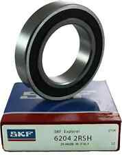 6204 2RSH SKF Deep Groove Bearing - 2RS - 2 Rubber Seals - 20mm x 47mm x 14mm