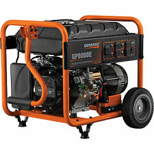 Generac  6954 GP8000E 8000 Watt Electric Start Portable Generator