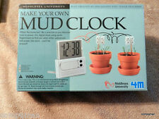 Make your own Digital MUD CLOCK,Middlesex University No Batteries Be a Scientist